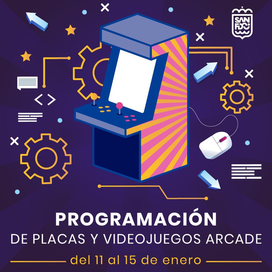 Juventud organiza un taller online sobre Programación de Placas y Videojuegos Arcade