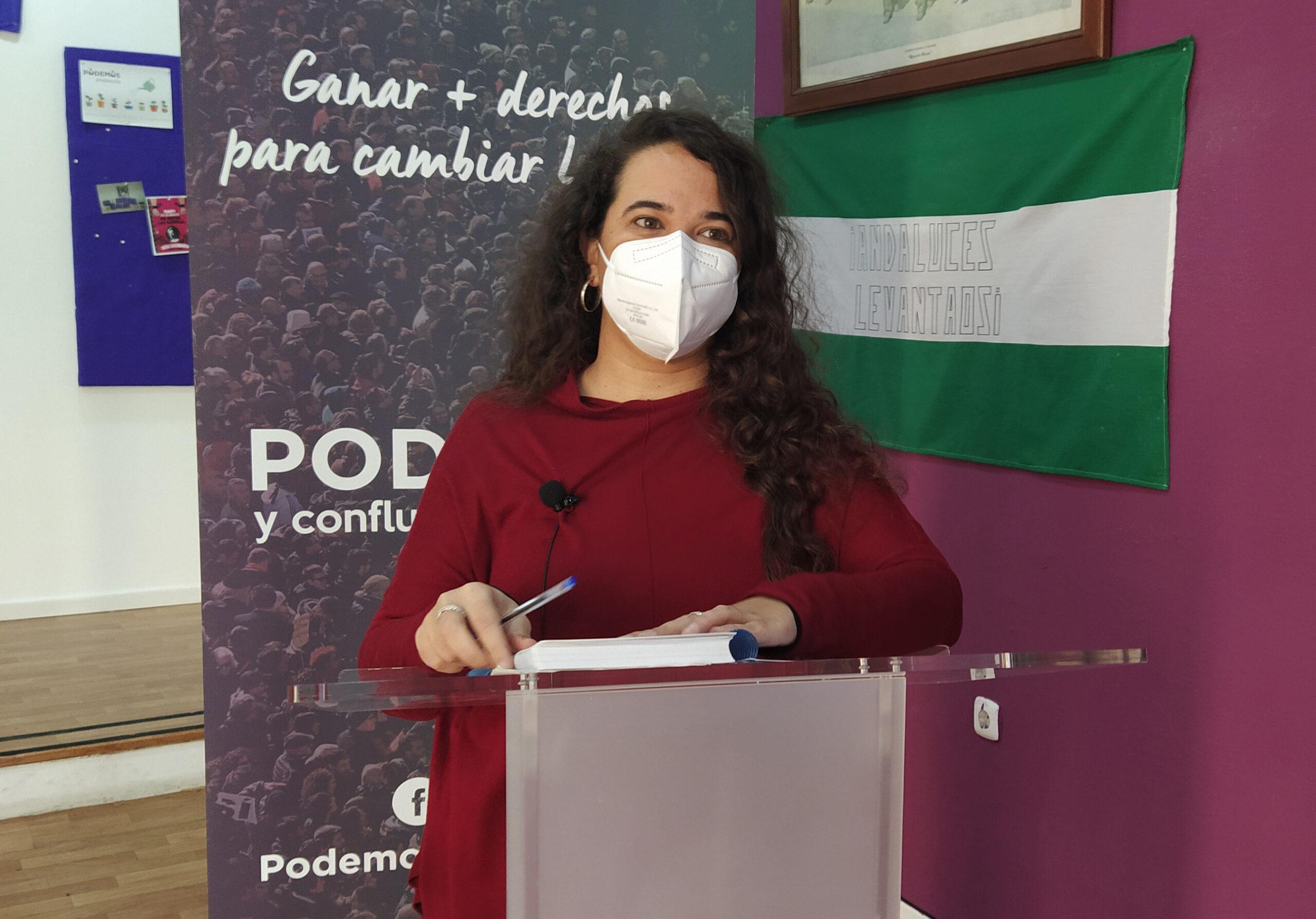 """Rojas, al PSOE: """"También es feminismo que se cumplan los derechos laborales de las trabajadoras de los servicios"""""""