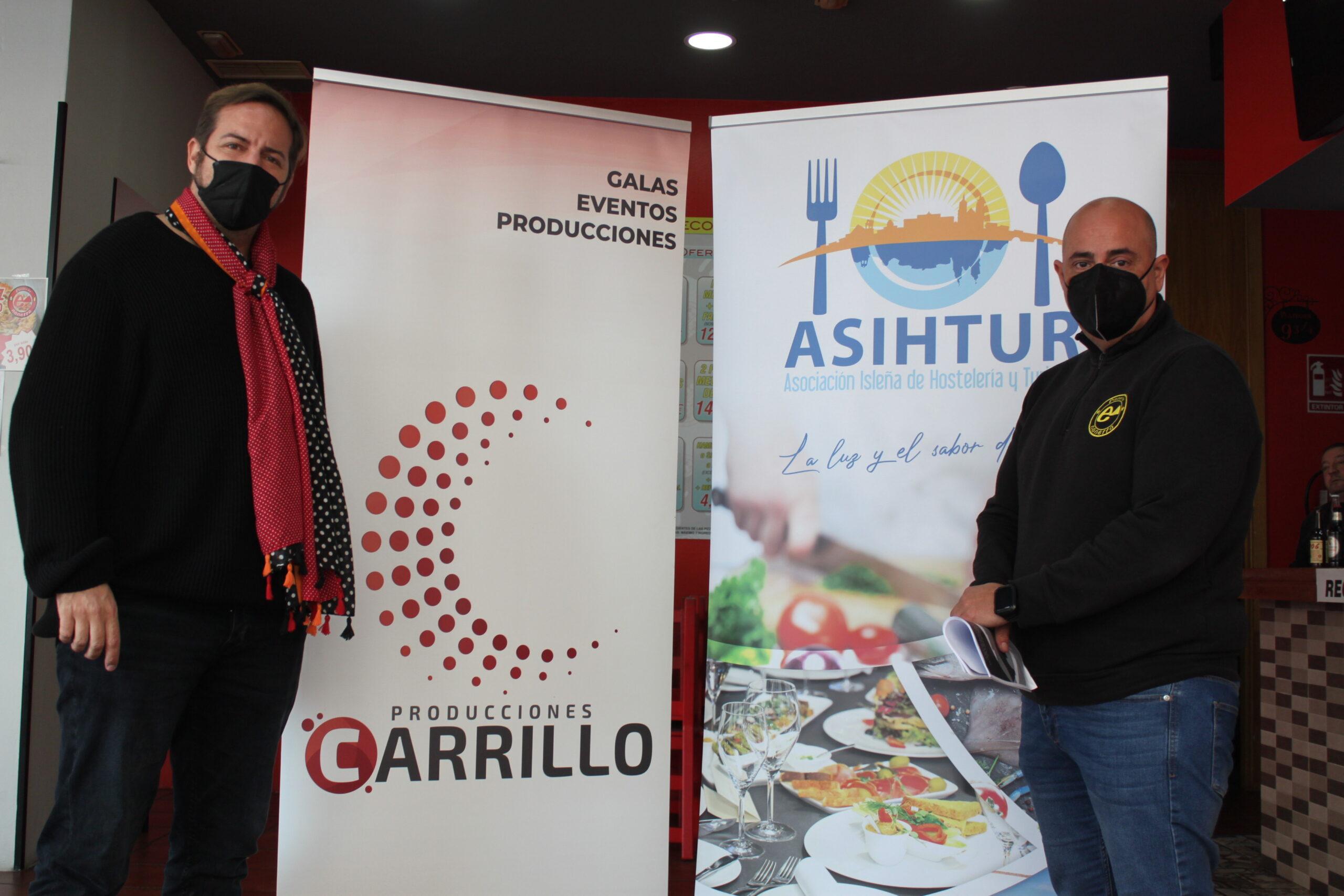 Firmado un convenio de colaboración entre Asihtur y Producciones Carrillo