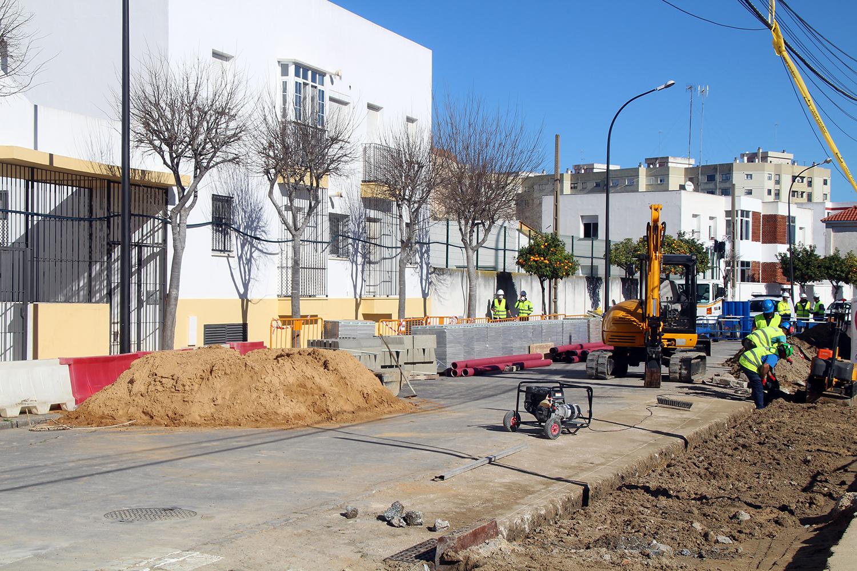 Comienzan las obras para renovar la red de abastecimiento de un tramo de la calle Buen Pastor