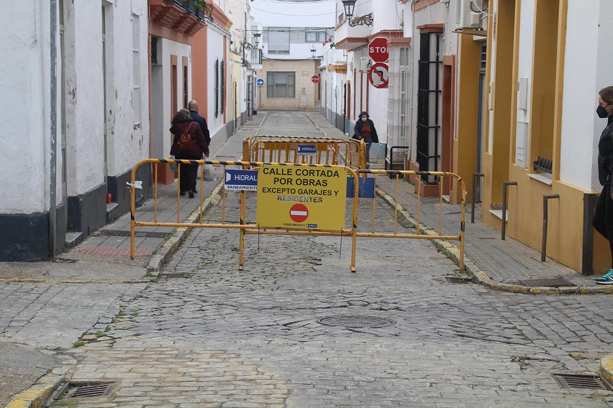 Comienzan las obras de la red de alcantarillado y agua potable de la calle Lepanto