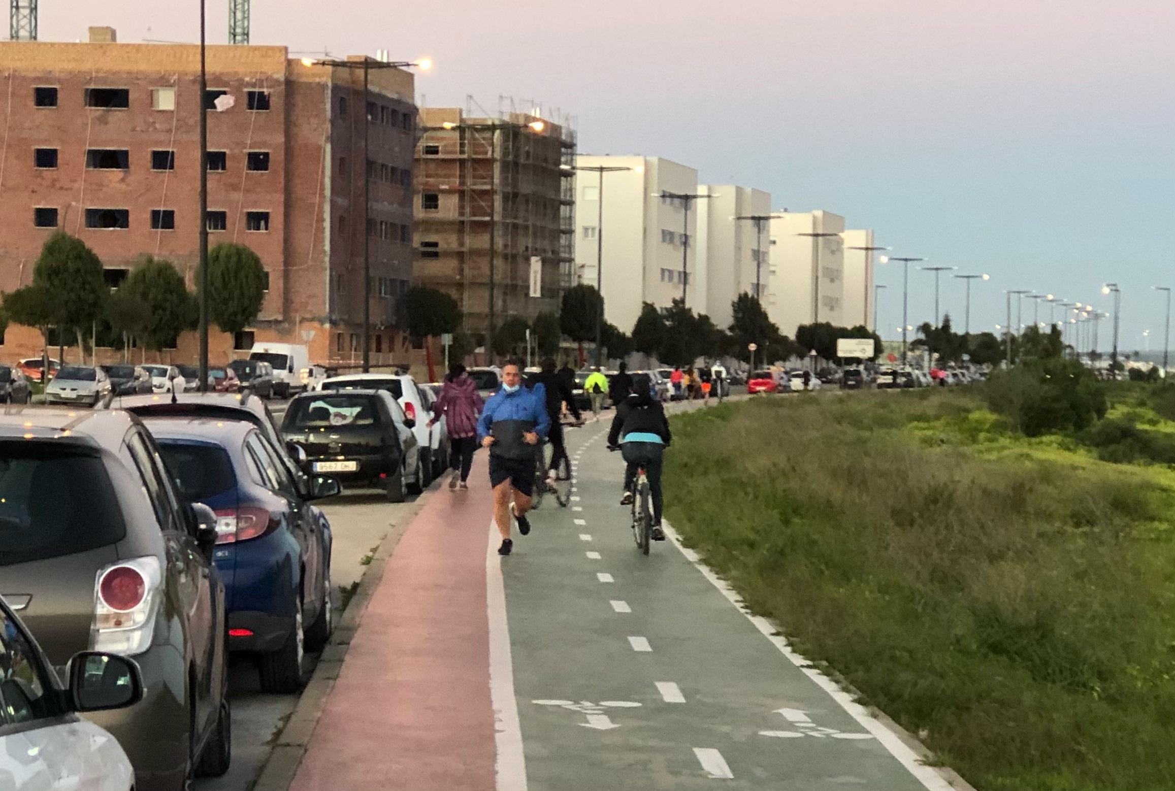 A pleno la petición de un estudio y medidas para la mejora del carril bici