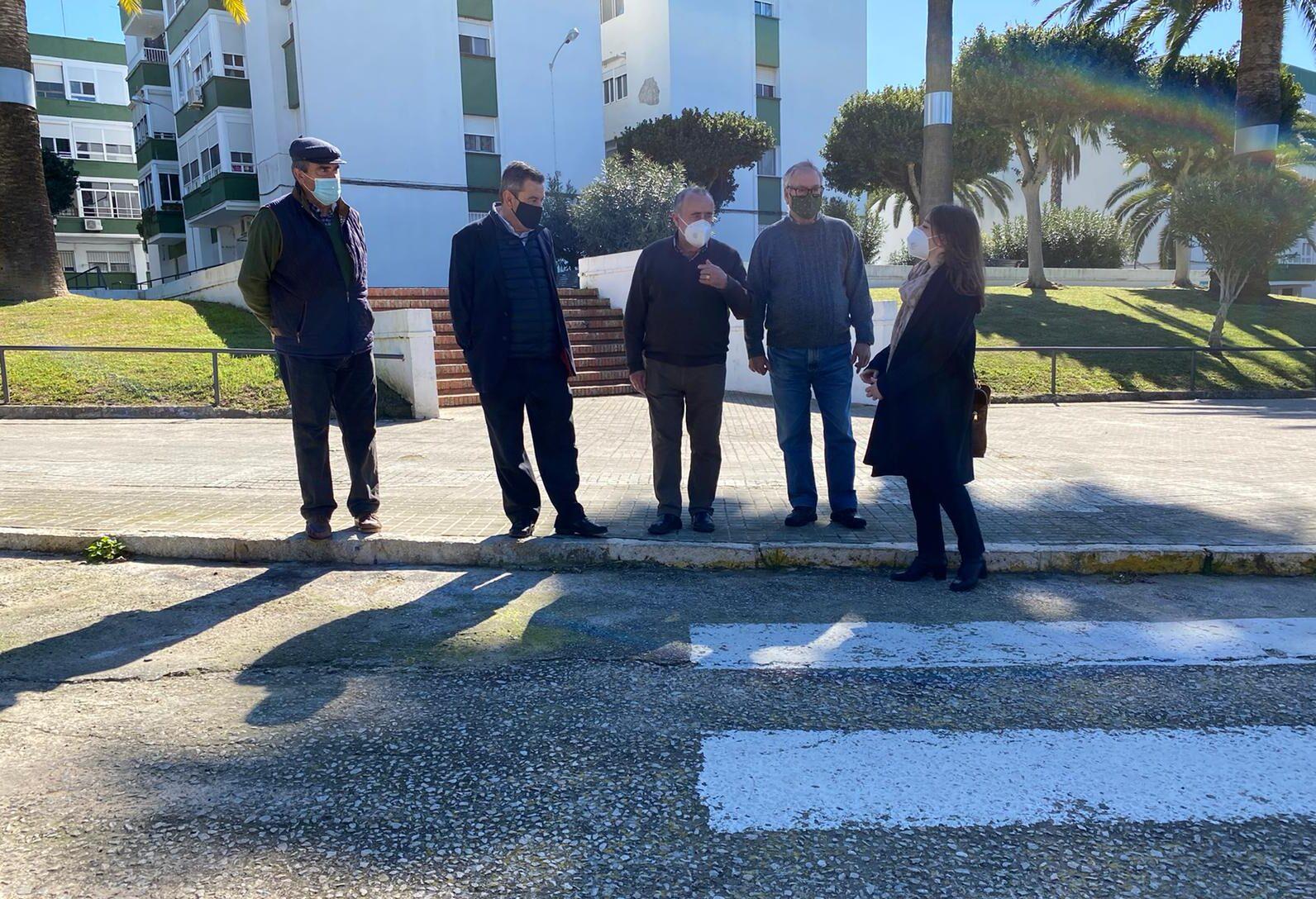 El PP critíca la falta de mantenimiento en la barriada Andalucía