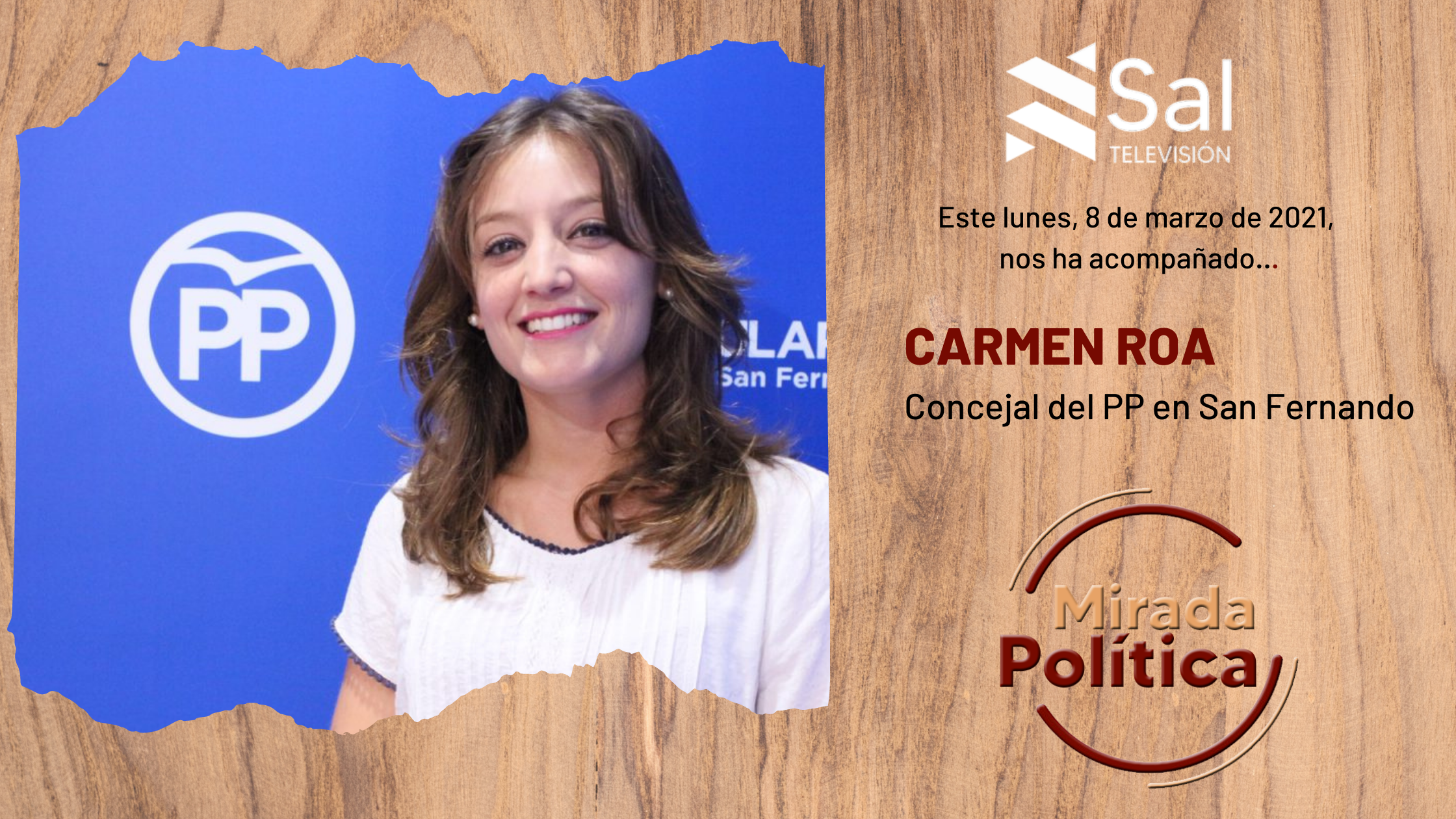 Carmen Roa, concejal del PP