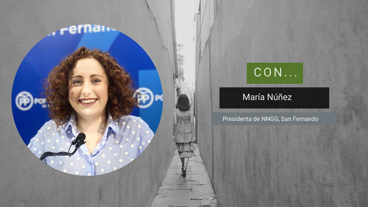 María Núñez, en el Magazine Caminando (22 de abril 2021)