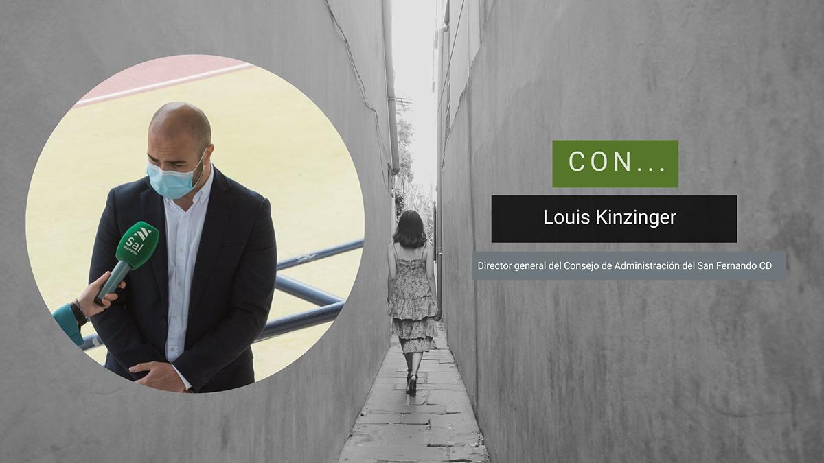 Louis Kinzinger (SFCD), en el Magazine Caminando (8 abril 2021)