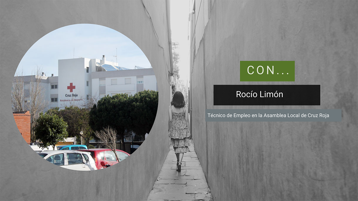 Rocío Limón de Cruz Roja, en el Magazine Caminando (8 de abril 2021)