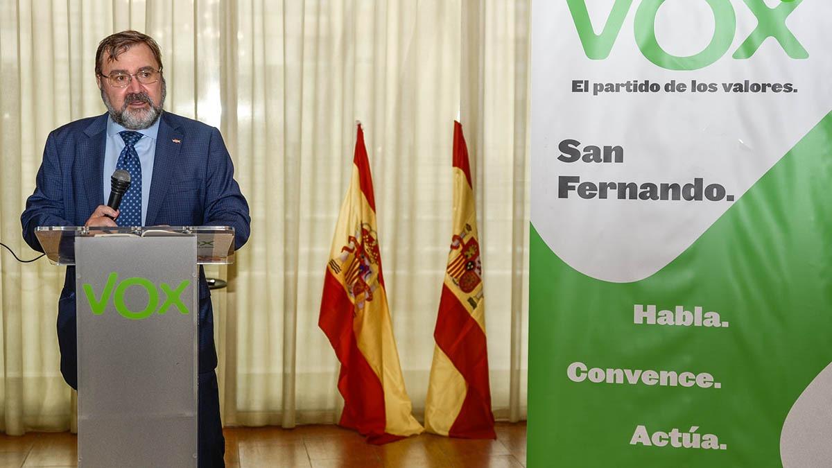 VOX celebra un acto solidario con motivo del Día del Libro y el Día de la Lengua Española