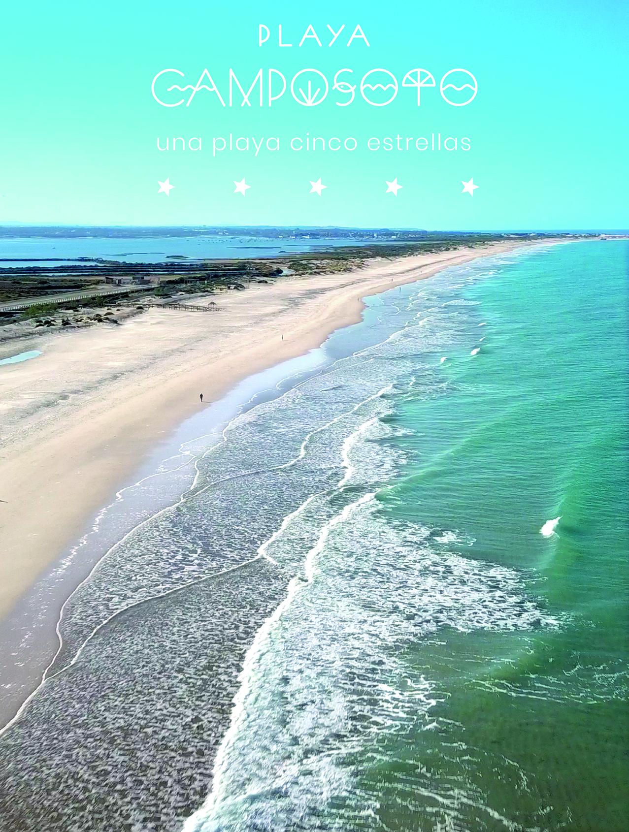 San Fernando presenta en FITUR un vídeo para promocionar la playa de Camposoto