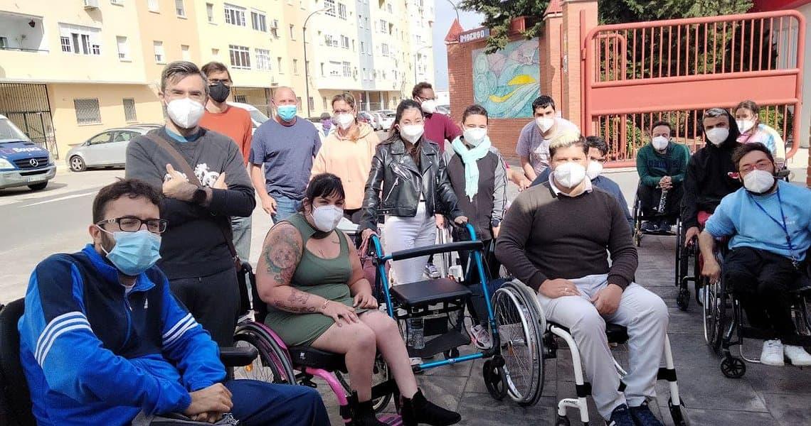 IU reclama a la Junta que vacune a residentes y trabajadores del Centro de discapacitados del Imserso