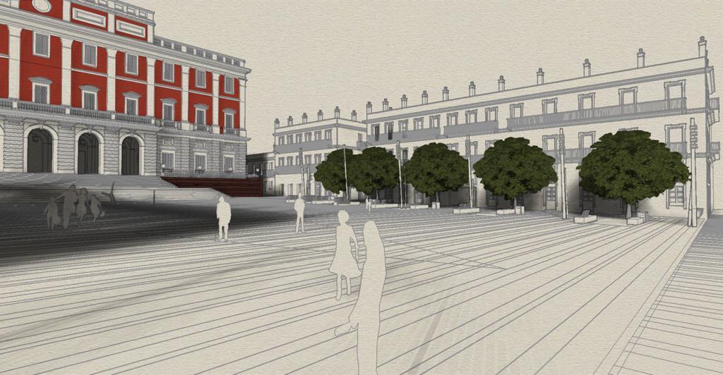 PP: «No es el momento de gastarse el dinero público en remodelar la Plaza del Rey»