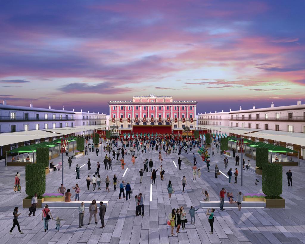 Se abre la licitación de las obras de la plaza del Rey