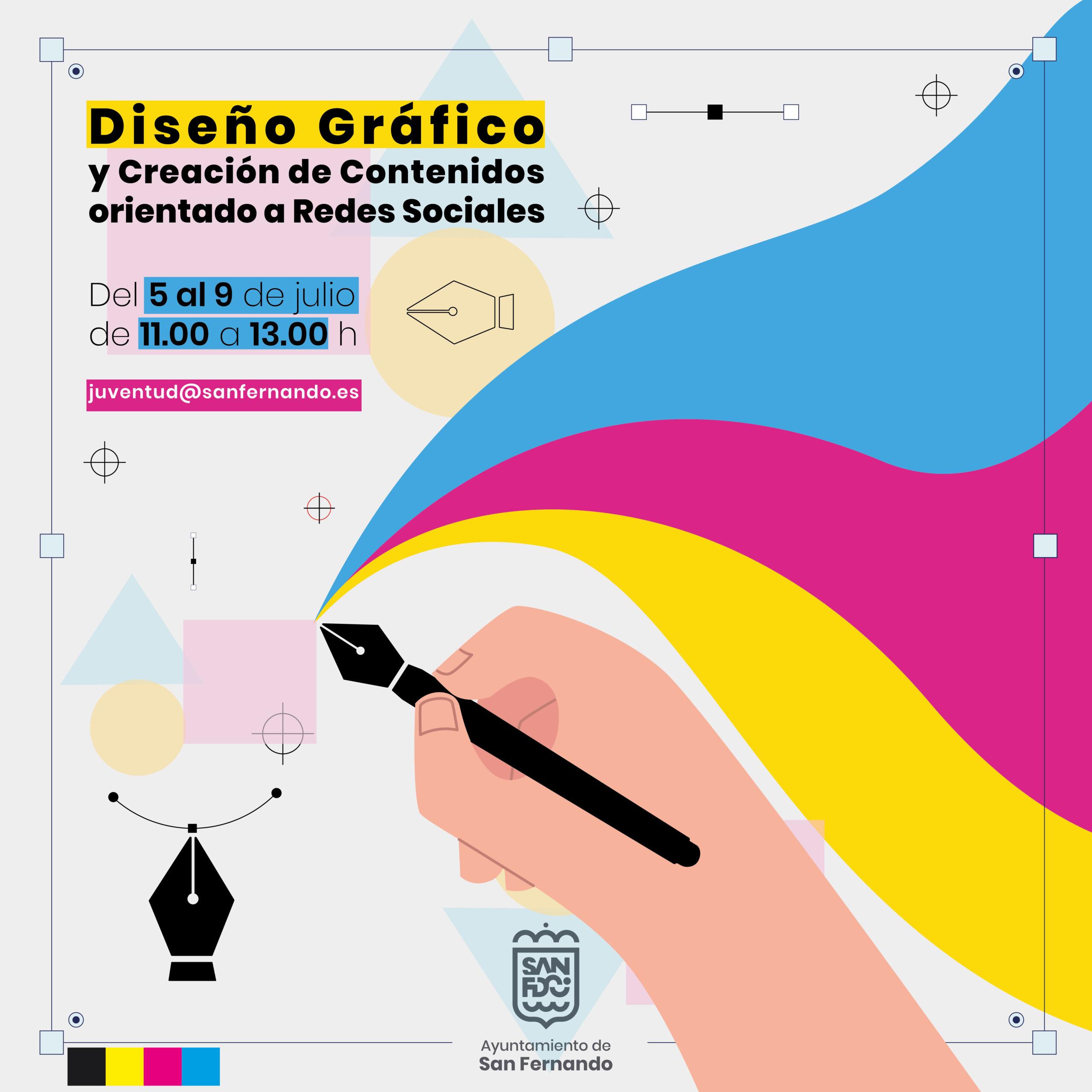 Juventud organiza un taller de Diseño Gáfico para redes sociales