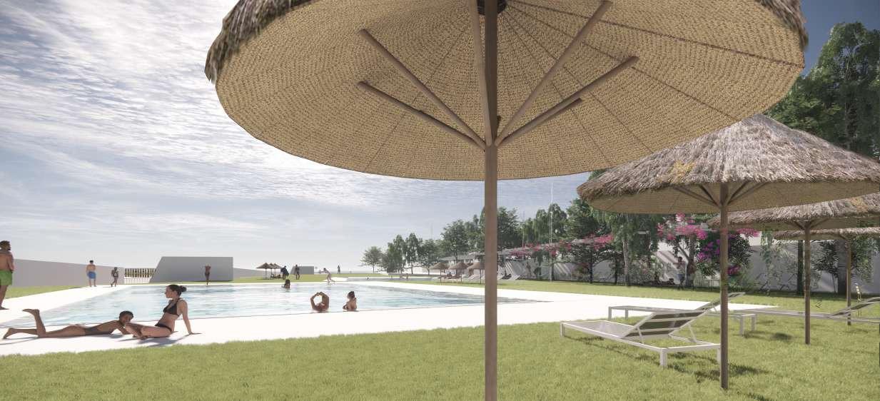 Listo el anteproyecto para la nueva piscina de verano en la Ronda del Estero