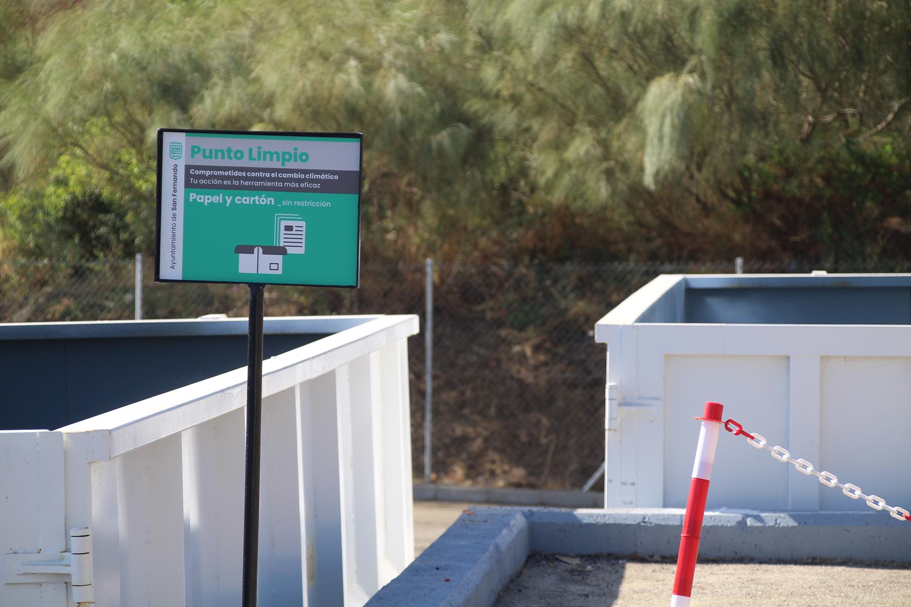 Entra en servicio el nuevo Punto Limpio ubicado en Camposoto